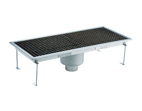Crystal UMHU0604V   Industrial Floor Drain / Vertical Outlet Ø:70 mm, 95x30x15 cm