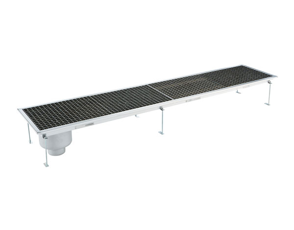 Crystal UMHU0609V   Industrial Floor Drain / Vertical Outlet Ø:70 mm, 207x30x15 cm