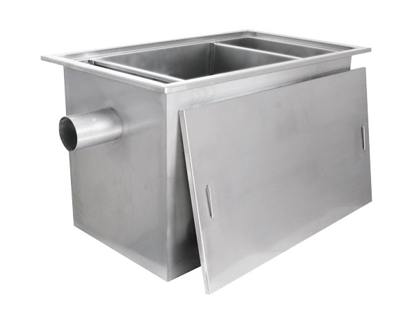 Crystal UMHU0504   Industrial Grease Trap / Stainless Steel 140x80x80 cm