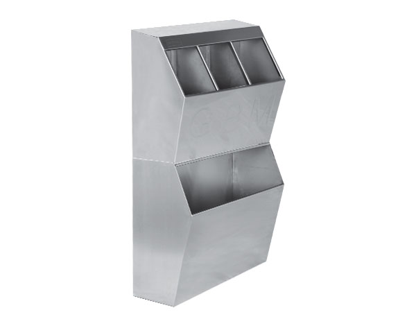 Crystal UMHU0701   Dispenser for Consumable / Stainless Steel 50x40x40 cm