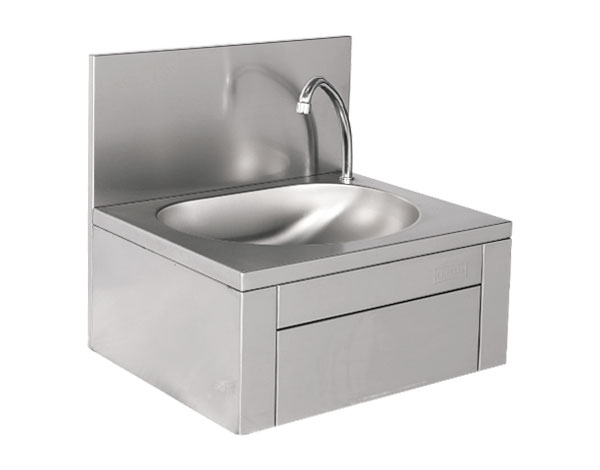 Crystal UMHU0201   Hand Wash Basin, Knee Operated / Stainless Steel 50x40x40 cm