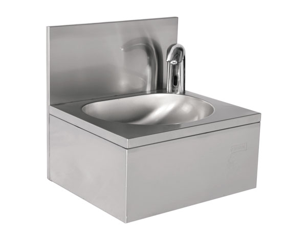 Crystal UMHU0202   Hand Wash Basin, Automatic Control / Stainless Steel 50x40x40 cm