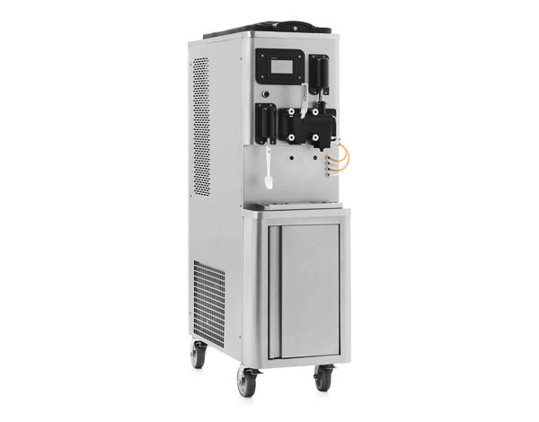 Smach EFE 2800 S   Soft Serve & Milkshake Ice Cream Machine / Mobile with Tank Agitator & Heat Treatment 45x81x155 cm