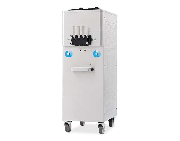 Smach EFE 4000 APS   Soft Serve Ice Cream Machine / Mobile with Tank Agitator 70x72x160 cm