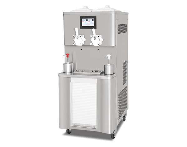 Smach EFE 4000 COMBI SHAKE   Soft Serve & Milkshake Ice Cream Machine / Mobile with Tank Agitator & Heat Treatment 70x72x160 cm