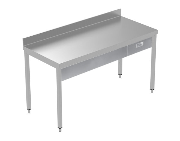 Crystal UMCT0601   Premium Work Table w/o Shelf with 1 drawer, 170x60x95 cm