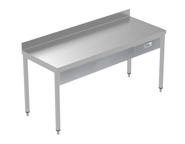 Crystal UMCT0601   Premium Work Table w/o Shelf with 1 drawer, 190x60x95 cm