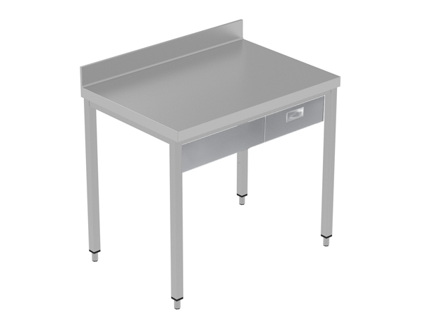 Crystal UMCT0601   Premium Work Table w/o Shelf with 1 drawer, 110x70x95 cm