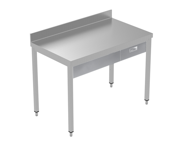 Crystal UMCT0601   Premium Work Table w/o Shelf with 1 drawer, 130x70x95 cm