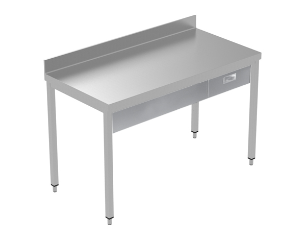 Crystal UMCT0601   Premium Work Table w/o Shelf with 1 drawer, 140x70x95 cm
