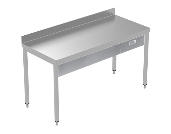 Crystal UMCT0601   Premium Work Table w/o Shelf with 1 drawer, 160x70x95 cm