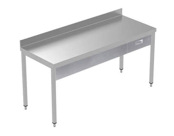 Crystal UMCT0601   Premium Work Table w/o Shelf with 1 drawer, 180x70x95 cm