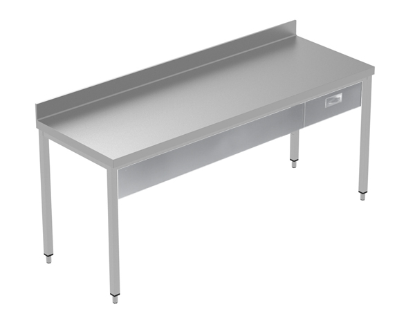 Crystal UMCT0601   Premium Work Table w/o Shelf with 1 drawer, 200x70x95 cm