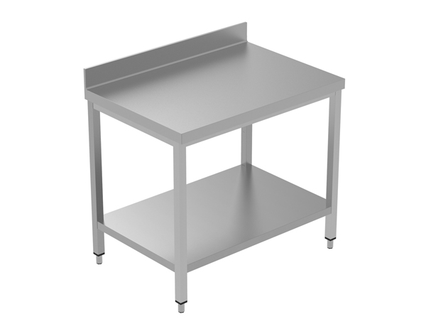 Crystal UMCT0103   Premium Work Table with Lower Shelf 100x60x95 cm