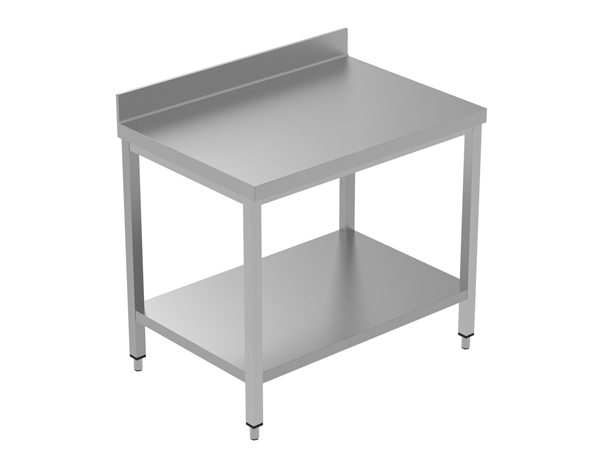 Crystal UMCT0103   Premium Work Table with Lower Shelf 110x60x95 cm