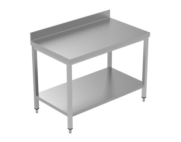 Crystal UMCT0103   Premium Work Table with Lower Shelf 120x60x95 cm