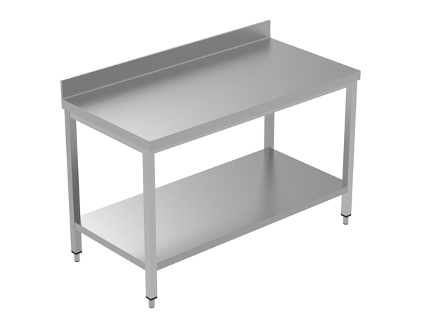 Crystal UMCT0103   Premium Work Table with Lower Shelf 140x60x95 cm