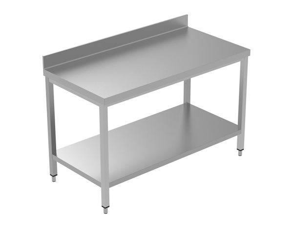 Crystal UMCT0103   Premium Work Table with Lower Shelf 150x60x95 cm