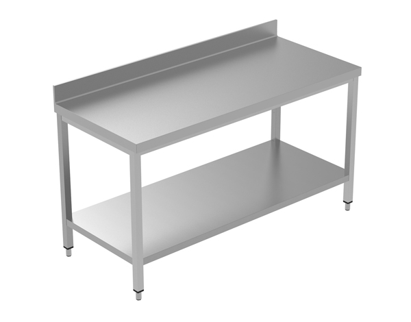 Crystal UMCT0103   Premium Work Table with Lower Shelf 160x60x95 cm