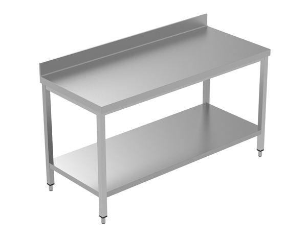 Crystal UMCT0103   Premium Work Table with Lower Shelf 170x60x95 cm