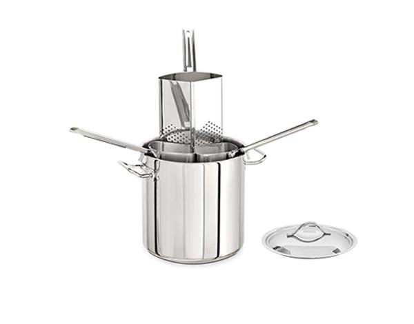 KAPP 36313623   Pasta Colander Set (4 Colanders) / Stainless Steel 36x22 cm