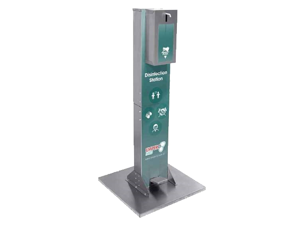 Empero EMPAYK001   Disinfectant Station (Foot Operated) / Stainless Steel 20x16.7x112.5 cm