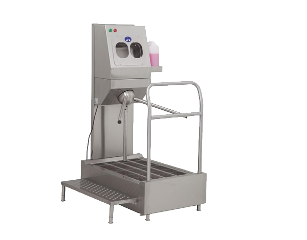 Yiber Yibtech TE 65   Hand Disinfectant Dispenser with Turnstile / Stainless Steel