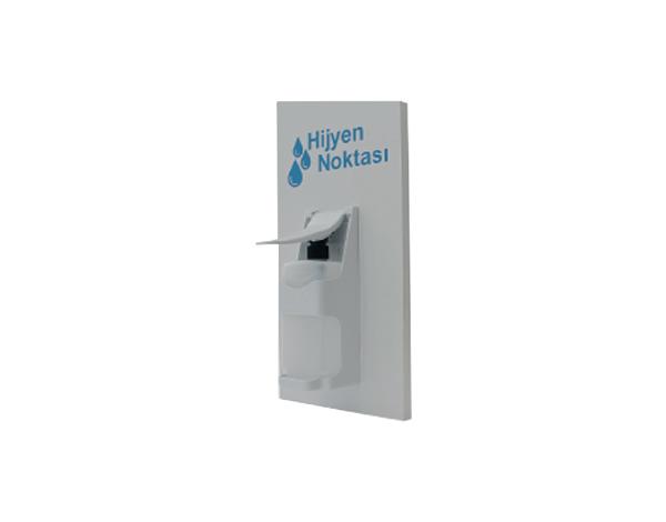 ENS&CO Std D 02   Disinfectant Stand / MDF Lam 23x50 cm