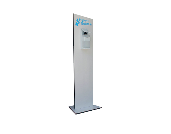 ENS&CO Std A 01   Disinfectant Stand / MDF Lam 23x130 cm