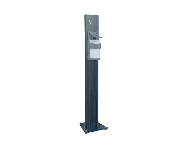 ENS&CO Std A 07   Disinfectant Stand / Chrome 12x120 cm