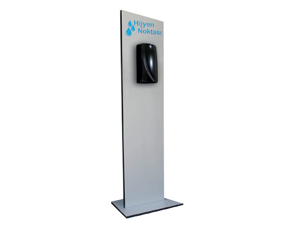 ENS&CO Std A 03   Disinfectant Stand / MDF Lam 23x130 cm