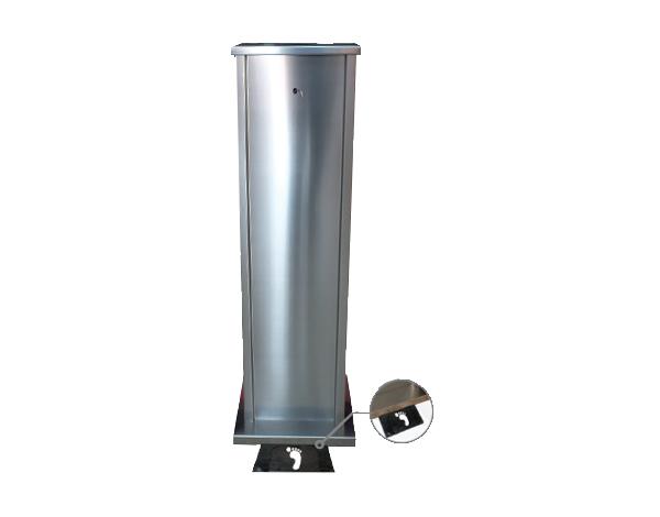 ENS&CO Std A 10   Disinfectant Stand / Chrome 33x120 cm