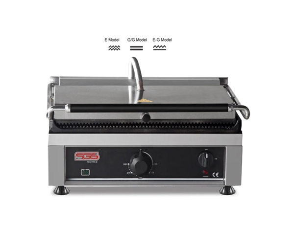 SGS TG 2530   Toaster Grill / Stainless Steel 36x41x28 cm