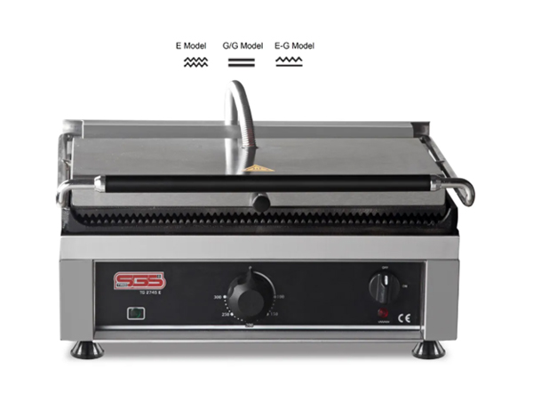 SGS TG 2740   Toaster Grill / Stainless Steel 46x41x28 cm