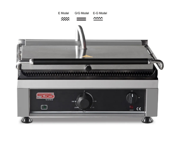 SGS TG 2745   Toaster Grill / Stainless Steel 51x41x28 cm