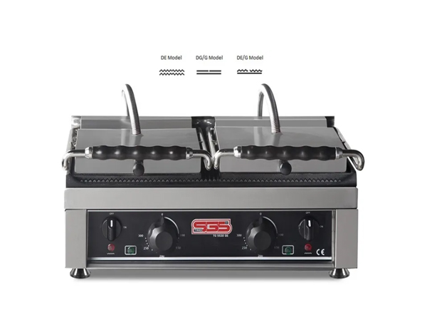 SGS TG 5530   Toaster Grill / Stainless Steel 56x37x26 cm