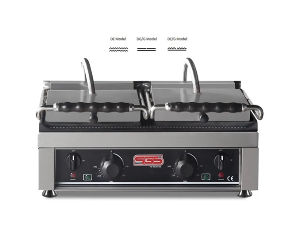 SGS TG 6040   Toaster Grill / Stainless Steel 64x48x29 cm