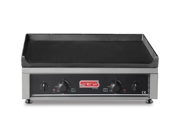 SGS PG 7050 GE   Plate Grill / Stainless Steel 72x55x26 cm