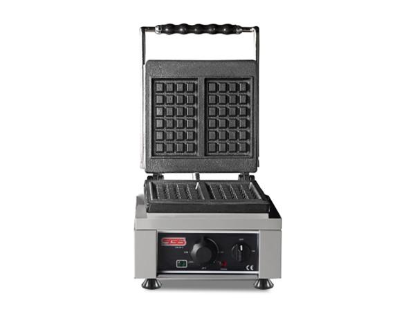 SGS WK 25 E   Waffle Machine / Stainless Steel 30x32x30 cm