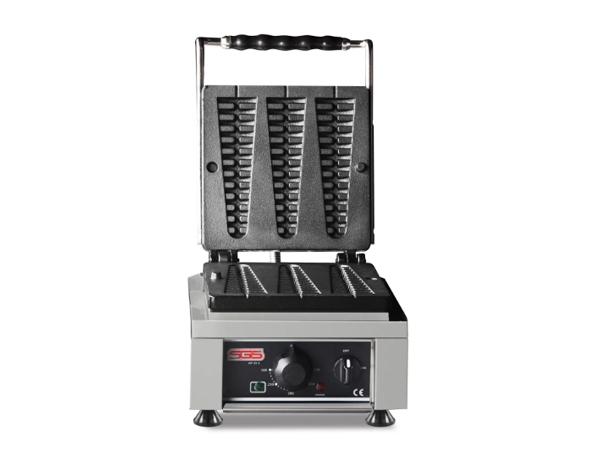 SGS WF 25 E   Waffle Machine / Stainless Steel 30x32x30 cm