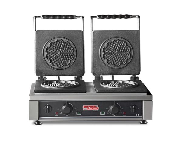 SGS WB 25 DE   Waffle Machine / Stainless Steel 60x32x30 cm