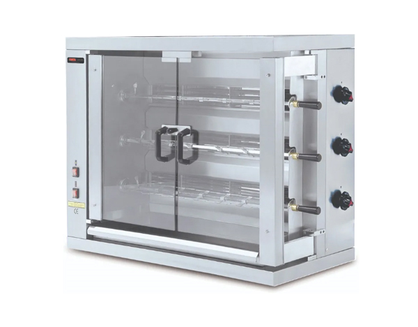 SGS 3EE   Electrical Chicken Rotisserie / Stainless Steel 109.8x48x82 cm