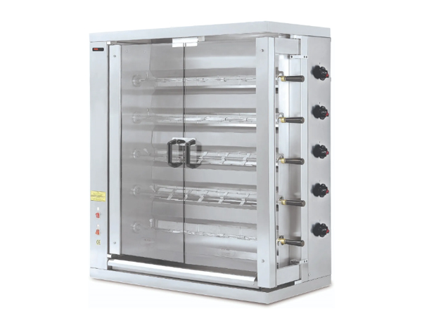SGS 5EE   Electrical Chicken Rotisserie / Stainless Steel 109.8x48x117 cm
