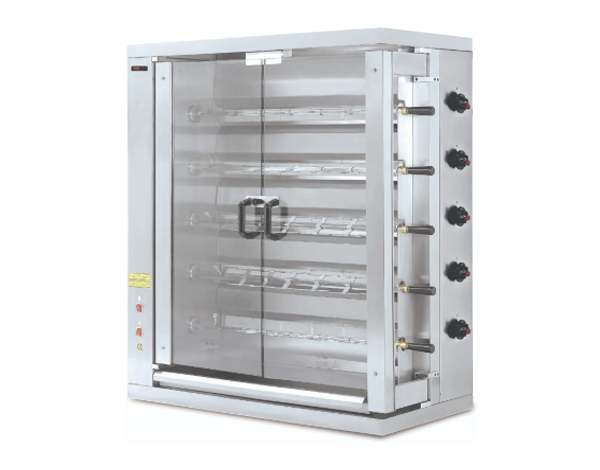 SGS 8EE   Electrical Chicken Rotisserie / Stainless Steel 109.8x48x202 cm