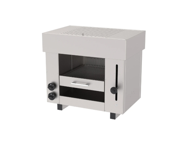 SGS ASM 2G   Salamander Gas Fired Grill / Stainless Steel 65x43x60 cm