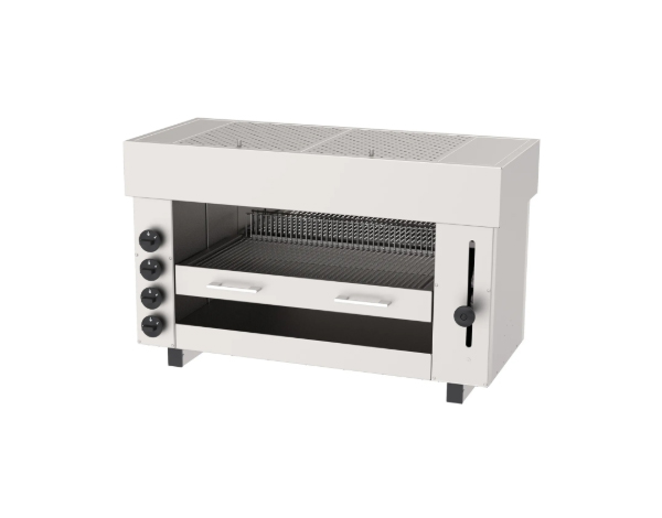 SGS ASM 4G   Salamander Gas Fired Grill / Stainless Steel 96x43x60 cm
