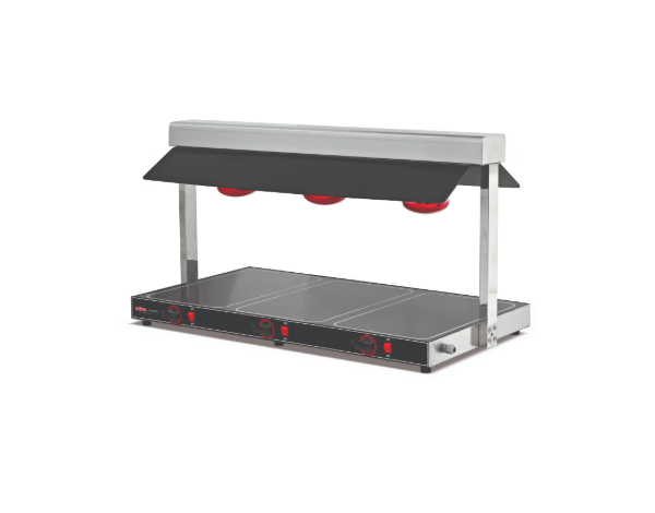 SGS STU 02   Hot Display Unit / Stainless Steel 104x57x56.2 cm