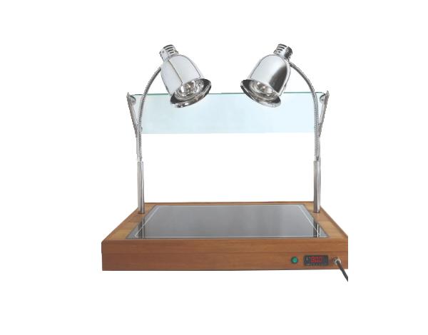 SGS AD 11060   Hot Display Unit / Wooden 111.5x60x12/75 cm