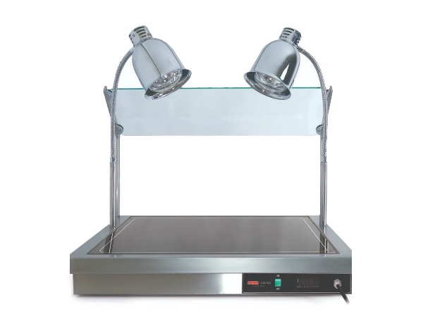 SGS PD 11060   Hot Display Unit / Stainless Steel 111.5x60x12/75 cm