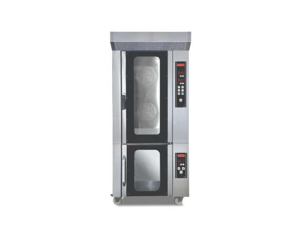 SGS PMG   Gas Patisserie Oven / Stainless Steel 85x105x126 cm
